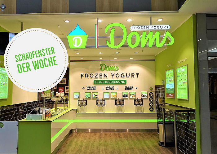 doms frozen yogurt einkaufen. Black Bedroom Furniture Sets. Home Design Ideas