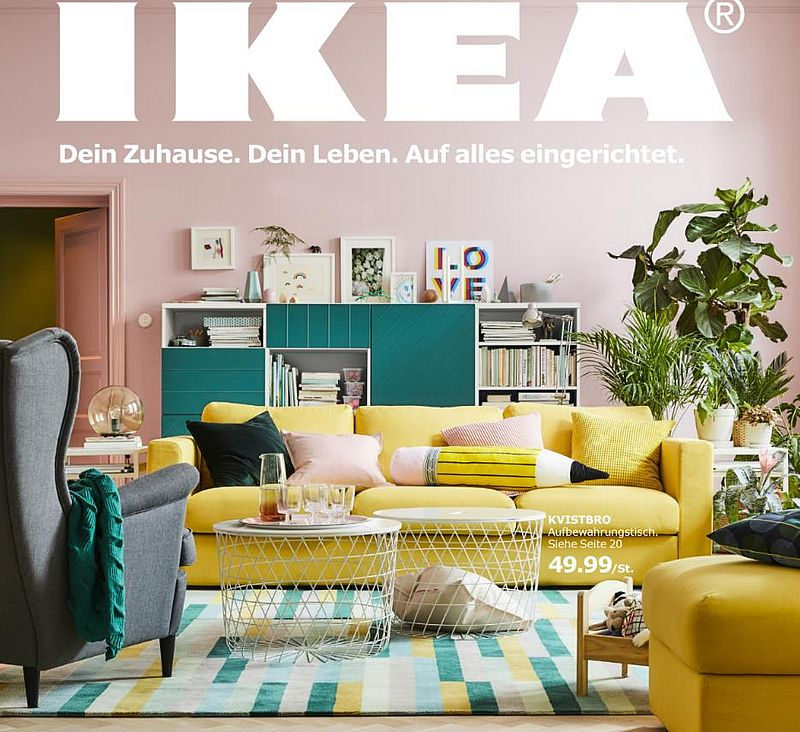 der neue ikea katalog ist da einkaufen. Black Bedroom Furniture Sets. Home Design Ideas