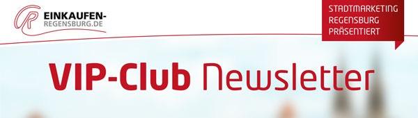 einkaufen-regensburg.de: VIP-Club Newsletter