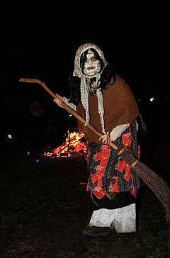 Walpurgisnacht Hexe