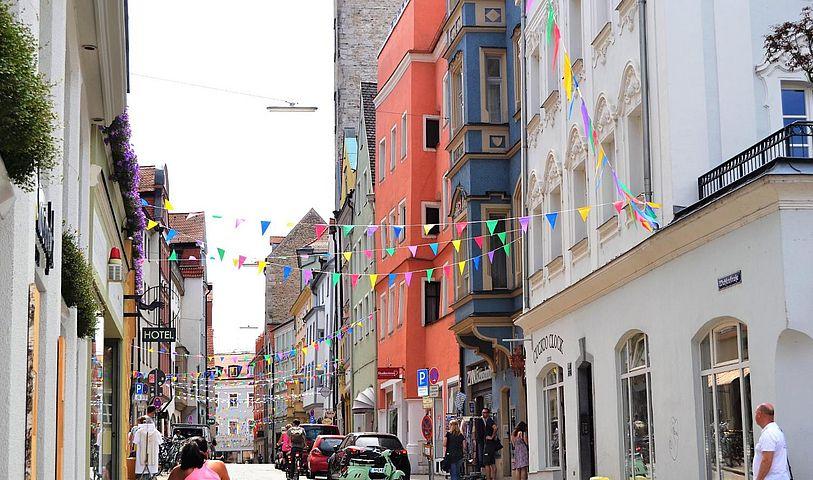 Regensburg Altstadt Geschäfte